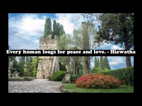 Famous quotes about love and peace - love and peace quotes images
