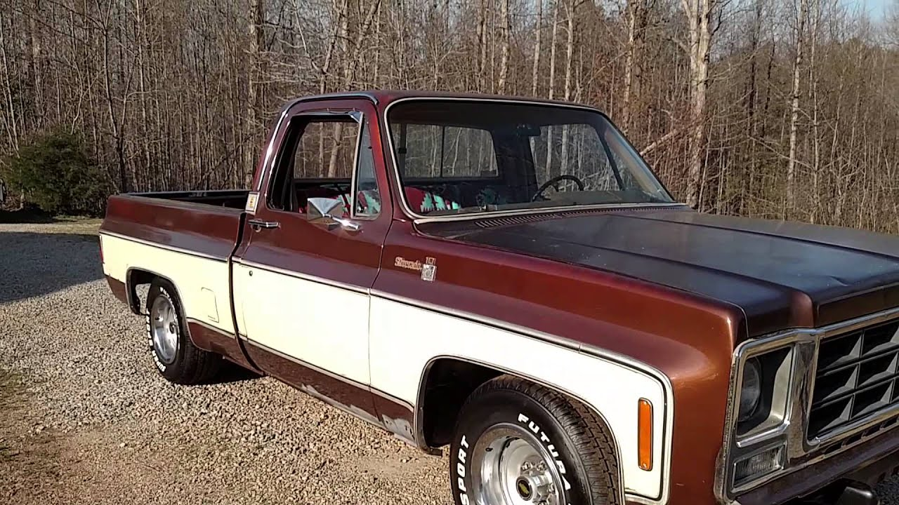 79 Chevy Truck >> 79 Chevy Silverado Finished Lowering