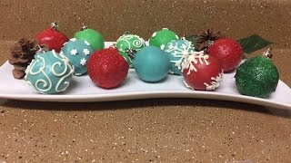 Cake Pop Christmas Ornaments(, 2016-12-20T00:36:52.000Z)