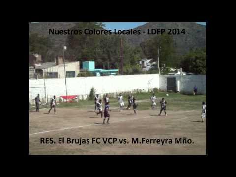 LDFP 2014 RES El Brujas FC VCP vs  M Ferreyra Mño