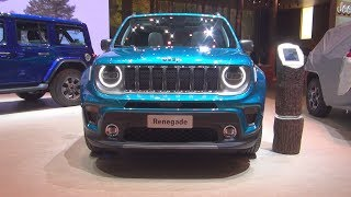 Jeep Renegade Limited 1.3 Turbo 150 hp 4x2 (2019) Exterior and Interior