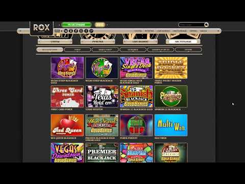 Обзор онлайн казино Рокс (Rox Casino)