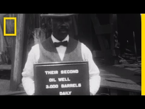 Rare 1920s Footage: All-Black Towns Living the American Drea