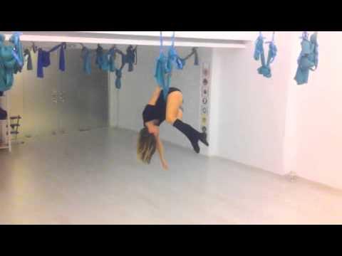 Aerial Yoga Dance by Elena Mouratidou