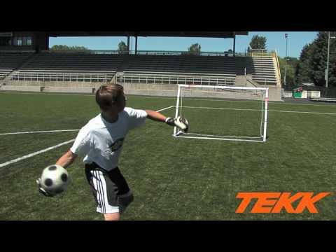 Tekk Trainer Soccer Goalkeeper training with Tony Waiters