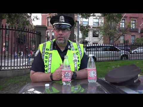 Boston police officers refuse to ticket department vehicle