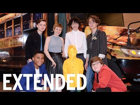 The Losers Club Talk Terrifying Time On 'IT' | EXTENDED
