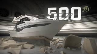 Galeon 500 FLY - the future of luxury yachting