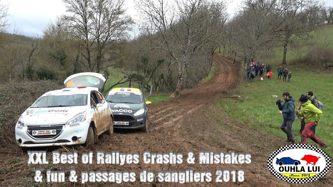 Download XXL Best of Rallyes Crashs & Mistakes & fun & passages de sangliers 2018