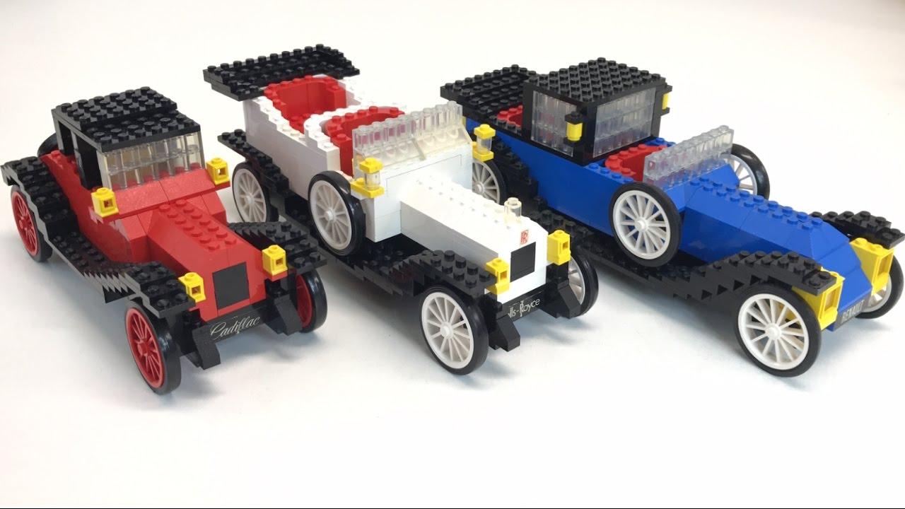 Old Car Lego Sets