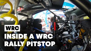 Be A WRC Rally Mechanic For 6 Minutes | WRC 2019