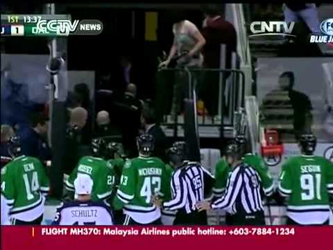 NHL: Dallas Stars centre Rich Peverley collapses on bench during game, game postponed