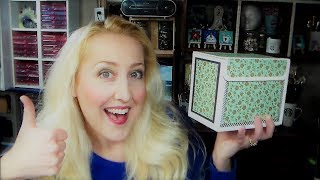 MAKE a Divided Card Keeper With Magnetic Closure!