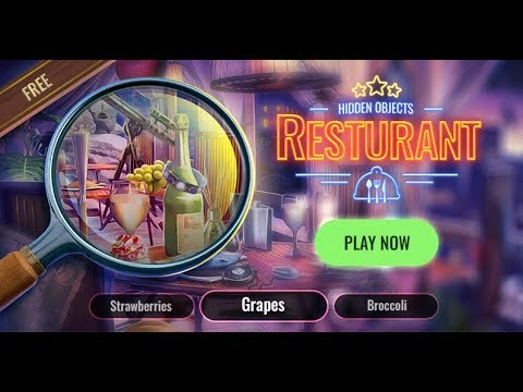 Restaurant Hidden Objects Game Cleaning Games To Search For Hidden