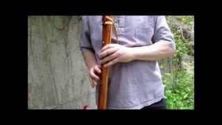 Oh Shenandoah: Laughing Crow Eastern Cedar Dm Flute
