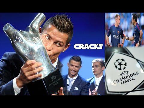 CRISTIANO gana el premio UEFA y pide PERDÓN a GRIEZMANN | Sorteo de grupos Champions