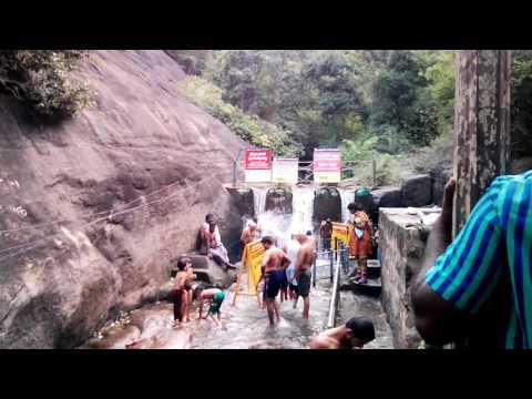 Courtallam Tiger Falls ( Puli Aruvi ) by CTDPO