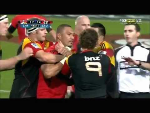 Robbie Fruean VS Kerr Barlow!!