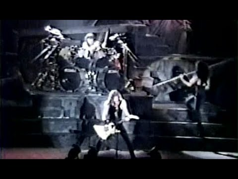 Metallica - Master Of Puppets - Live in West Palm Beach, FL, USA (1989)