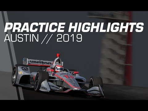 2019 NTT INDYCAR Series: Austin Practice Highlights