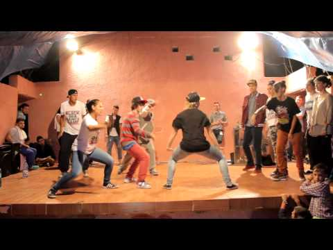 Black Sea Dance Camp 2013 - Crew Battle: Trepadusii vs Ergee's Angels (Final)