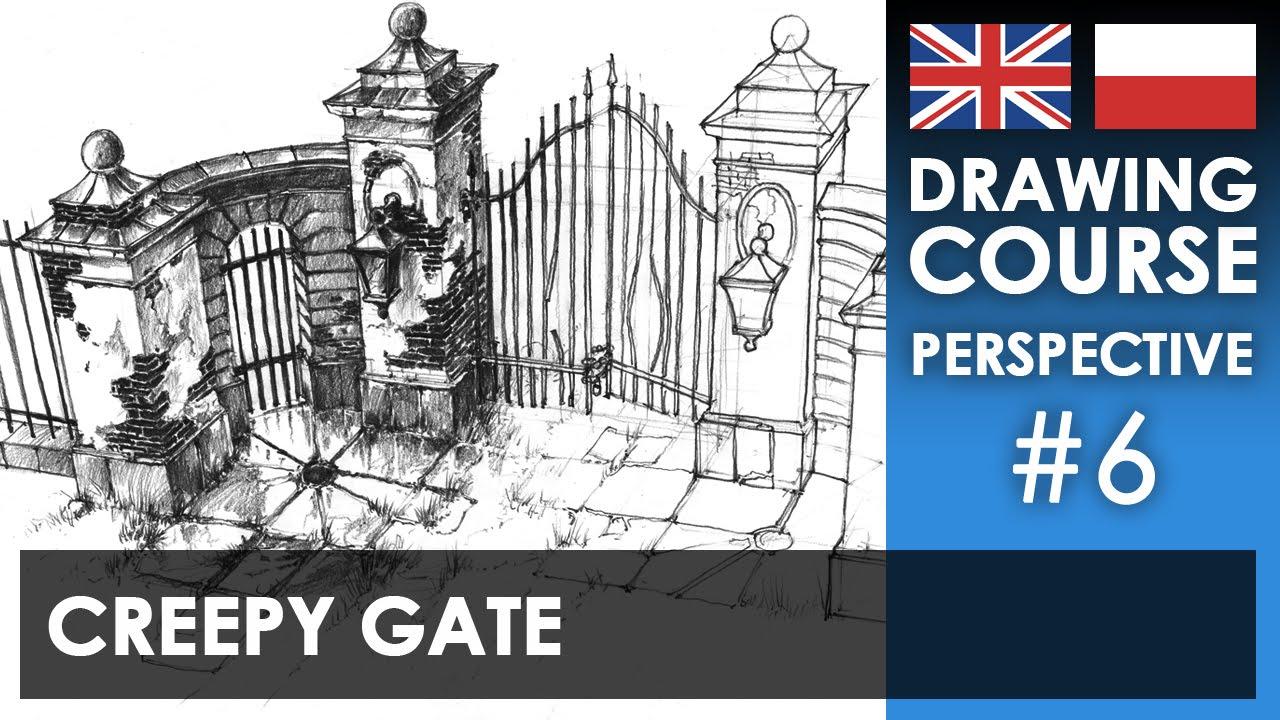 Drawing Tutorial - Creepy Gate