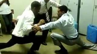 Ethiopian men dancing in dorm How Ethiopian men dance