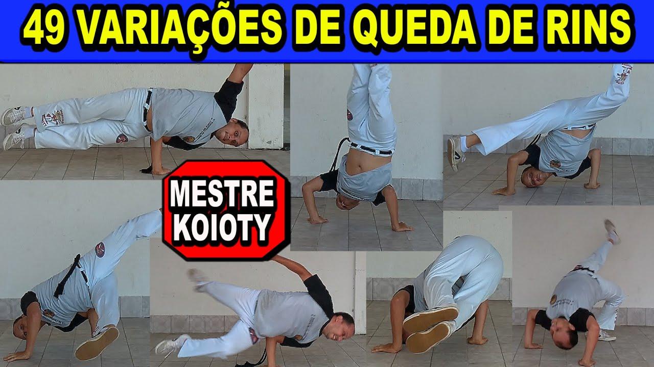 49 variações da queda de rins - Movimentos de capoeira - Mestre Koioty - Capoeira Herança de Zumbi