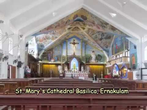 St Marry's Cathedral Basilica in Ernakulam (Kochi)