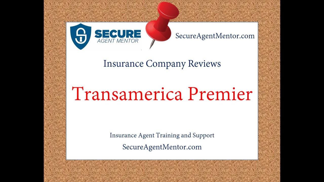 Transamerica Life Insurance Reviews >> Insurance Company Reviews Transamerica Premier Life