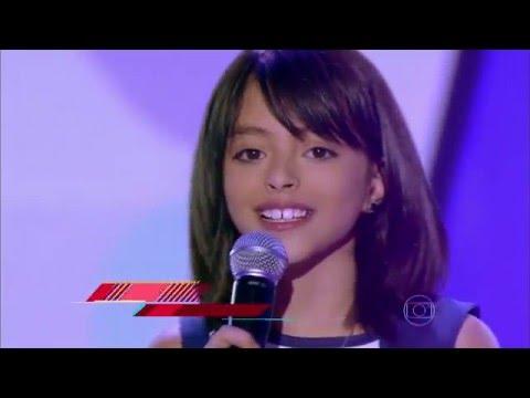 Iris Pereira canta 'Felicidade' no The Voice Kids - Audições|1ª Temporada