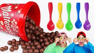 Maltesers Edible Chocolate Spoon DONA Mukbang