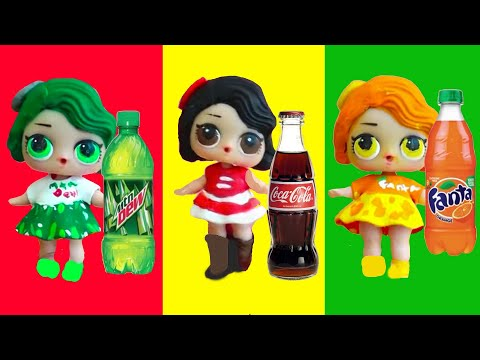 LOL Dolls Go to Fizz Balls Store at the Mall ! Toys and Dolls Fun for Kids & Baby Doll Play