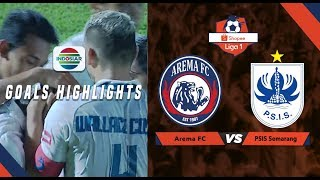 Arema (1) vs (1) PSIS Semarang- Goals Highlights | Shopee Liga 1
