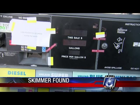 Local gas station targeted by credit card skimmers