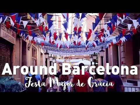 FESTA MAJOR DE GRÀCIA | AROUND BARCELONA