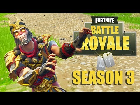 Hanging With The Monkey King! - Fortnite Battle Royale Gameplay - Xbox One X - Solo
