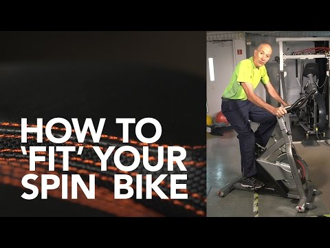 How to 'Fit' Your Spin Bike   Consumer Reports