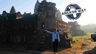 Камбоджа 2017. Ангкор Ват. Место где снимали Лару Крофт с Анджелиной Джоли.