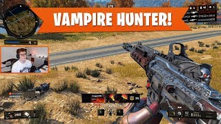 DROPPING 22 w/ THE VAMPIRE HUNTER! | Black Ops 4 Blackout | PS4 Pro