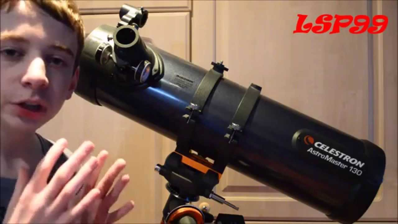 Celestron Astromaster 130 Eq Md Review Youtube