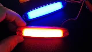 Neon parmak LED lamba 12 24 volt