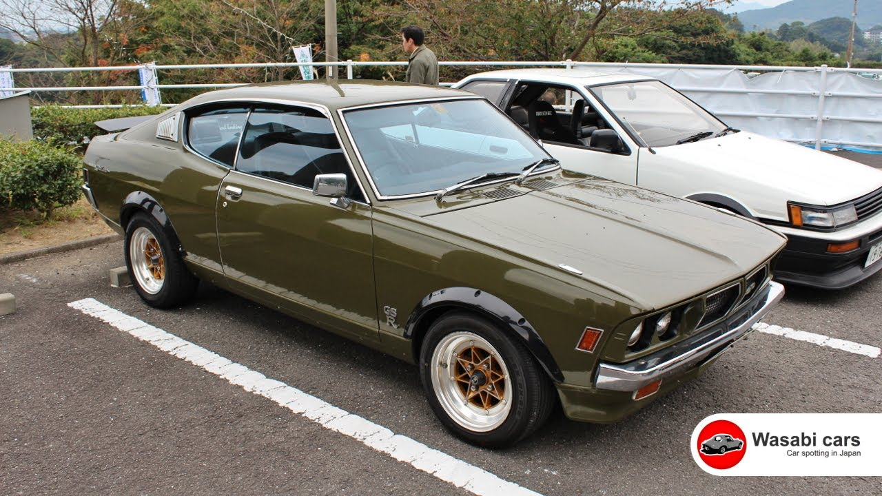 spotted: a mid-70's mitsubishi colt galant gto gs-r - youtube