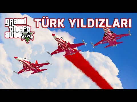 GTA 5 TÜRK YILDIZLARI GÖSTERİSİ !! Ekip