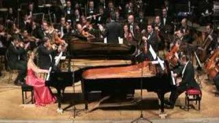 Poulenc - Concerto for two Pianos and Orchestra - 1st mov.