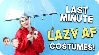 Last Minute Halloween Costumes 2017! Minimal Effort Costumes!