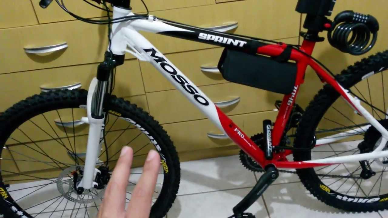 7198cf910 Bike MTB Mosso 7046   Kit completo Acera   Vários Acessórios ...