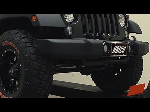 aries jeep accessories 2015 jeep wrangler unlimited youtube. Black Bedroom Furniture Sets. Home Design Ideas