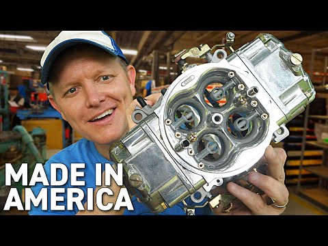 How Carburetors are Made (Basically Magic) - Holley Factory Tour | Smarter Every Day 261