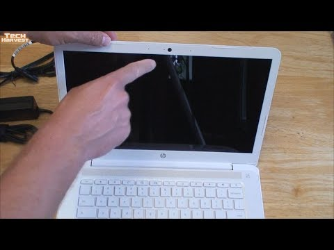 HP Snow White Chromebook Unboxing: 14-CA060NR 14 Inch Touch Screen